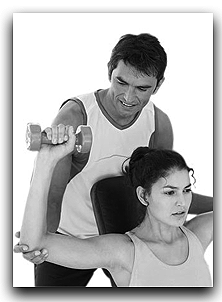 A personal trainer can help design an exercise program for you!